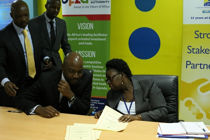 UFZA, URA PARTNER ON TRADE FACILITATION IN FREE ZONES